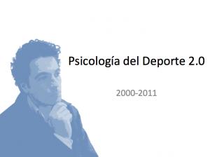 Presentación Psicología del Deporte 2.0 2000-2001